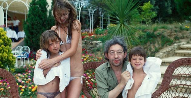 ジェーン・バーキンと3人の娘たち