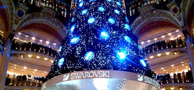 ギャラリー・ラファイエットのクリスマス2012
