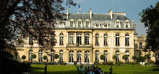 10月からエリゼ宮の庭園一般公開がスタート
