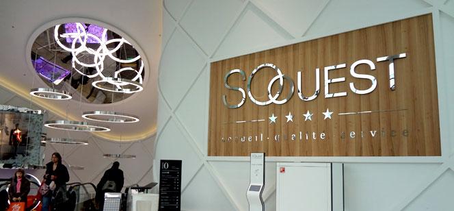 パリ郊外の新しいショッピングセンター、So Ouest