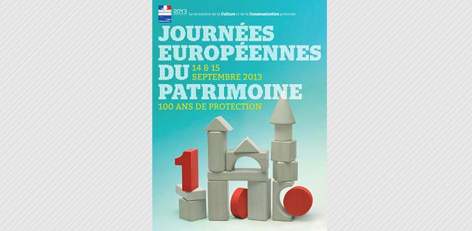30年の歴史をたどる「ヨーロッパ文化遺産の日」のポスターがかわいい。