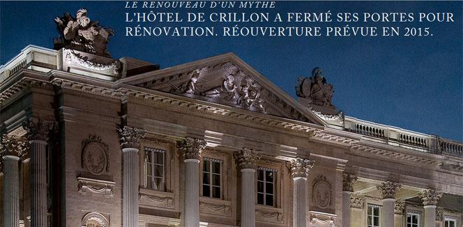 パリの超高級ホテルが続々と閉館する理由。