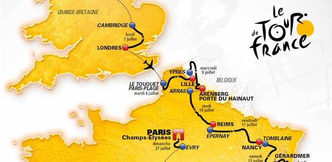 2014年ツール・ド・フランスはイギリスからスタート