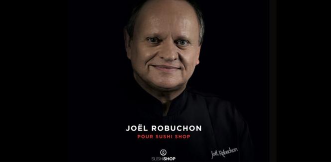 ジョエル・ロブションとSushi Shopのコラボレーション