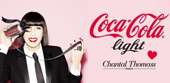 2014年コカ・コーラライトのコラボはシャンタル・トーマス!