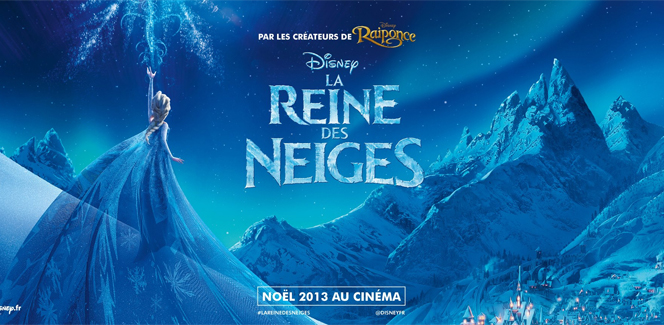 「アナと雪の女王」の「Let it go」フランス語版