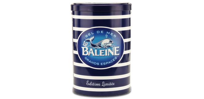 クジラのお塩の限定缶がかわいい!