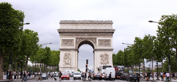 第一次世界大戦終結100周年記念式典:パリ市内への影響