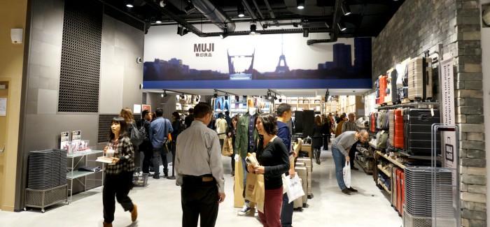 MUJIのヨーロッパ旗艦店、オープン日に行ってきました!