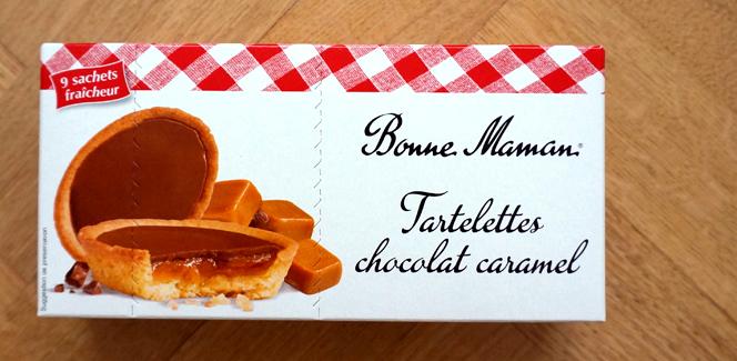 11. ボンヌ・ママン チョコレート&キャラメルのタルトレット