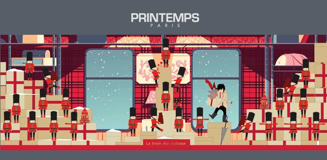 パリのクリスマス情報2014 その3:プランタンはあの老舗英国ブランドとのコラボ!