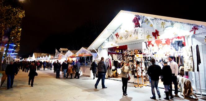 パリのクリスマス情報2014 その5:パリの街がノエルに湧く…クリスマスマーケット