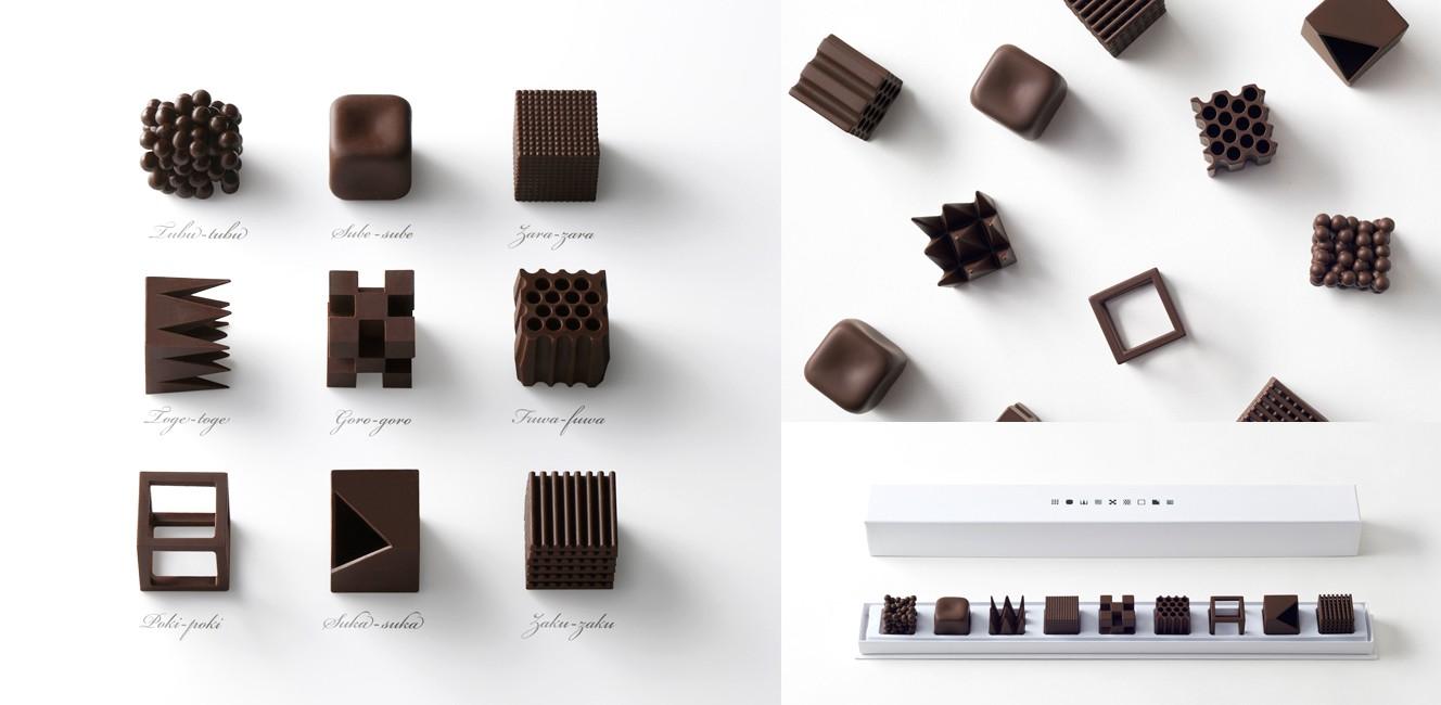 メゾン・エ・オブジェと日本人デザイナーのコラボ・チョコレート