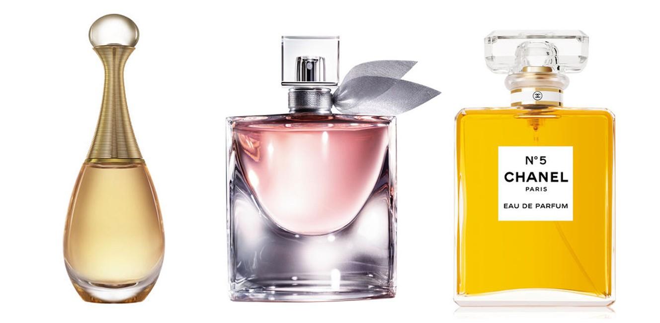 クリスマスプレゼントに一番人気だった香水は?