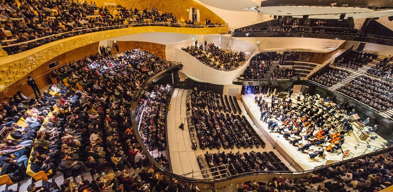 パリに待望の近代的なコンサートホールが誕生