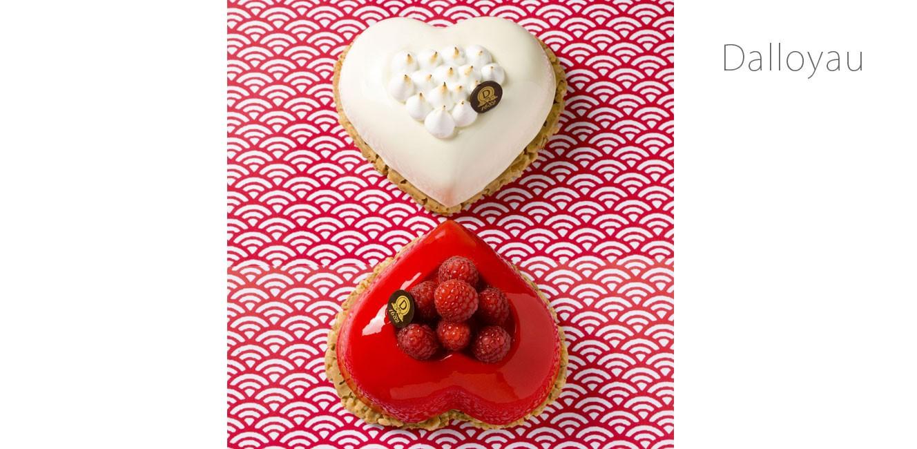ギャラリー・ラファイエットの人気パティスリー5軒のバレンタイン限定商品!