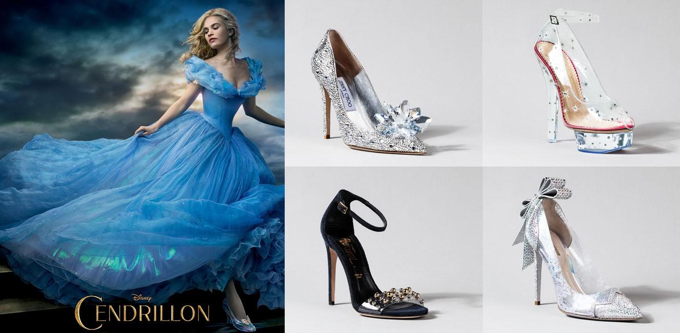 9ブランドがデザインしたシンデレラのガラスの靴がギャラリー・ラファイエットに登場!