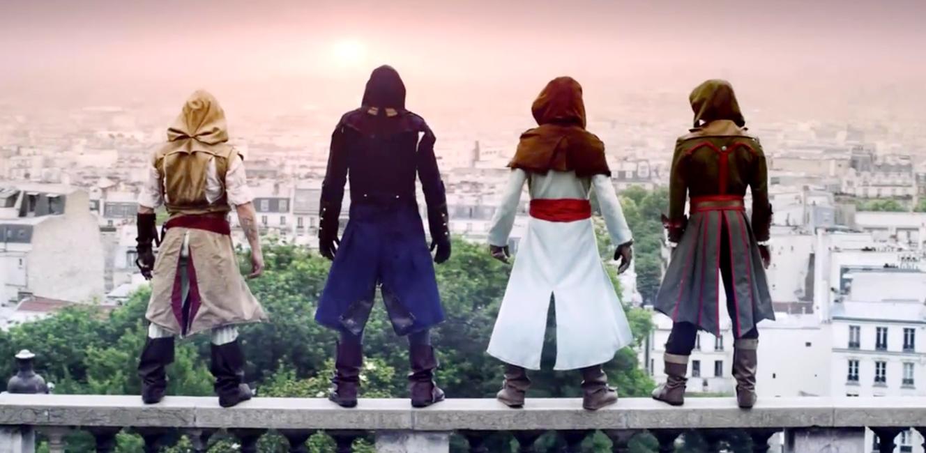 パリの街をフリーランニングする動画がすごい!