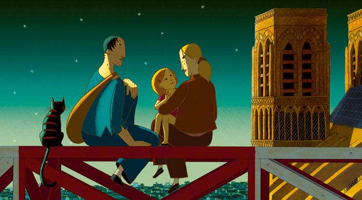 2015年「パリ月光シネマ」野外上映会