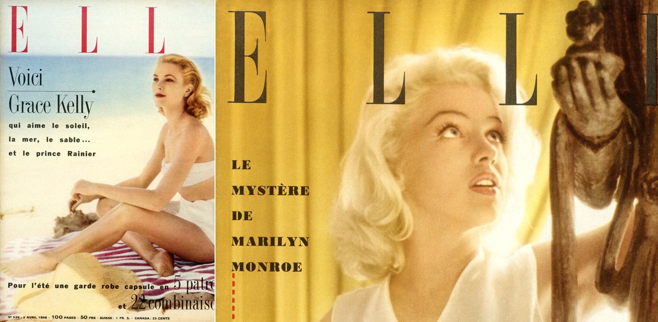 雑誌「ELLE」70周年記念の展覧会
