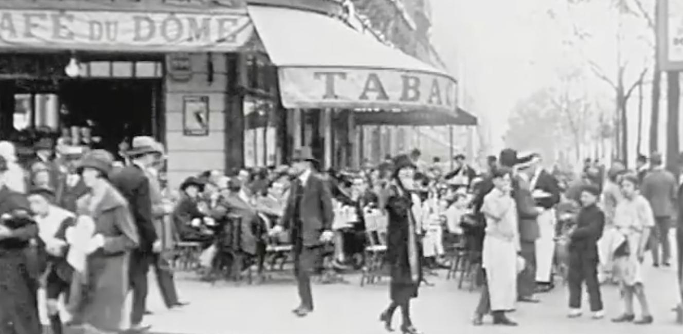 1920年代のパリの様子がわかる映像見つけました トリコロル パリ