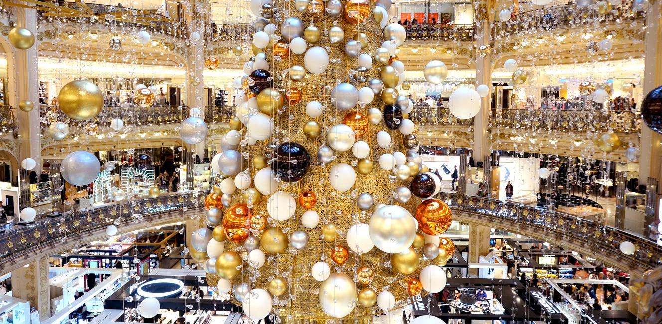 今年のギャラリー・ラファイエットのクリスマスは…
