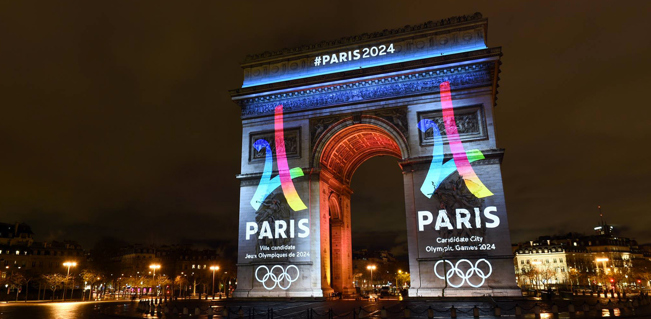 オリンピック2024のパリ招致ロゴが公開