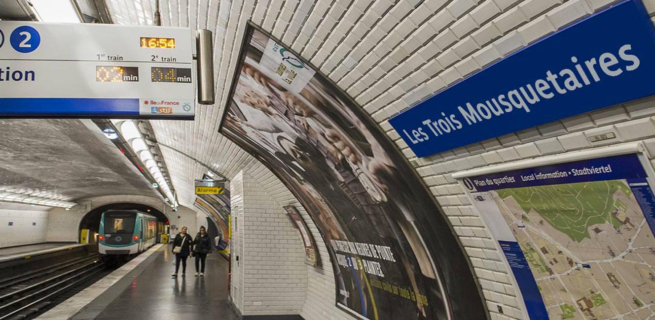 パリのメトロのエイプリルフール動画