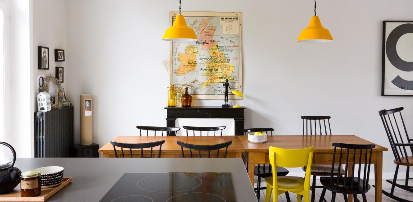 フランスお宅訪問:ショップオーナーらしいセンスが光るヴィンテージと現代クリエイターのエスプリを上手に融合させた一軒家