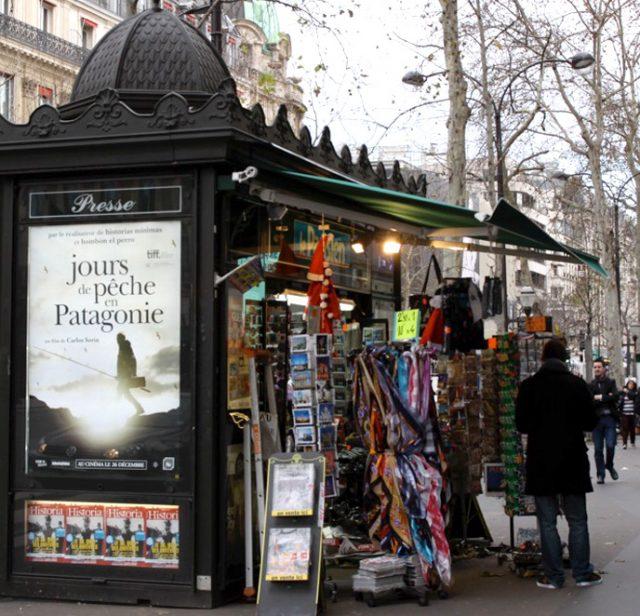 パリ市がキオスクのデザインを一新!