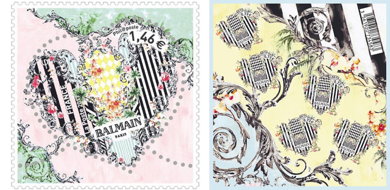 今年のバレンタイン切手はバルマン!