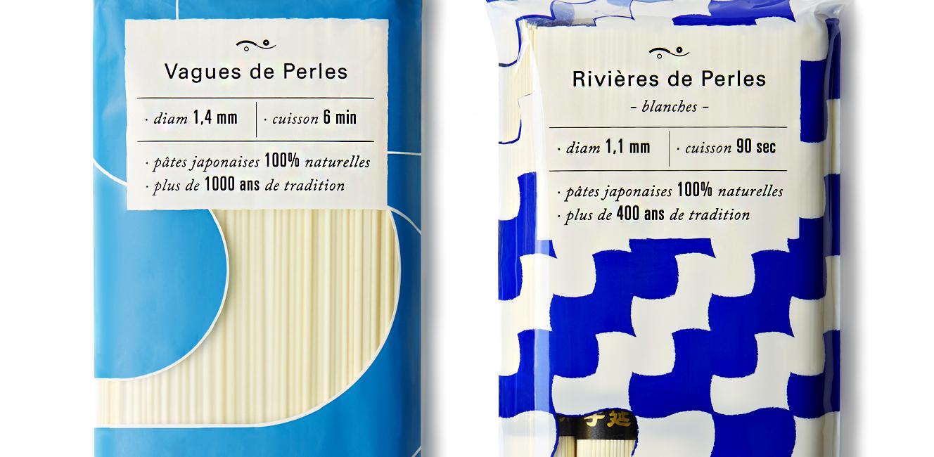 幻の手延うどんとそうめんが、新パッケージでパリに登場!