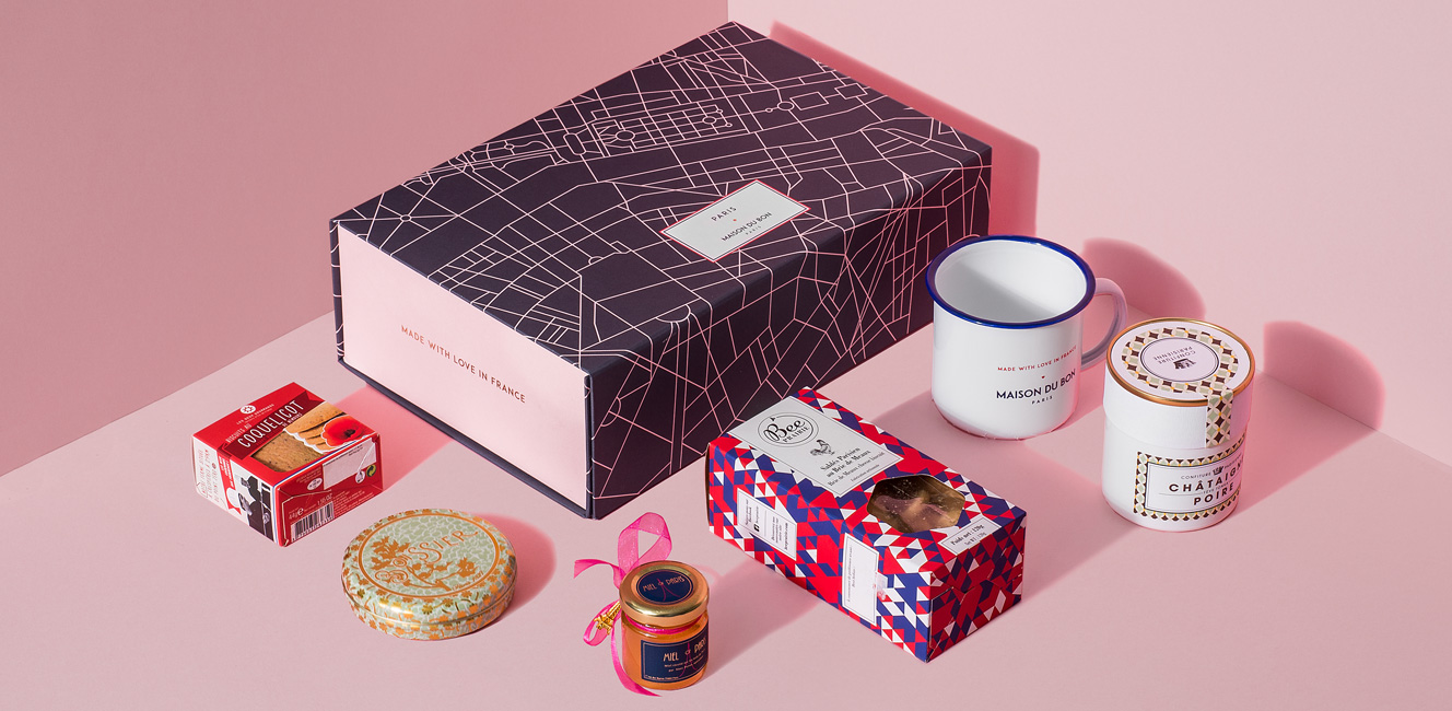 フランスから届く夢のような美味しいものボックス!Maison du Bon