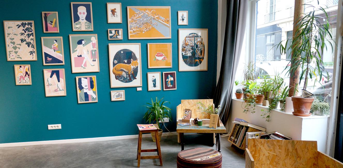 The World Elements|飾りたい絵が見つかる。パリのおしゃれなグラフィックアートギャラリー&カフェ