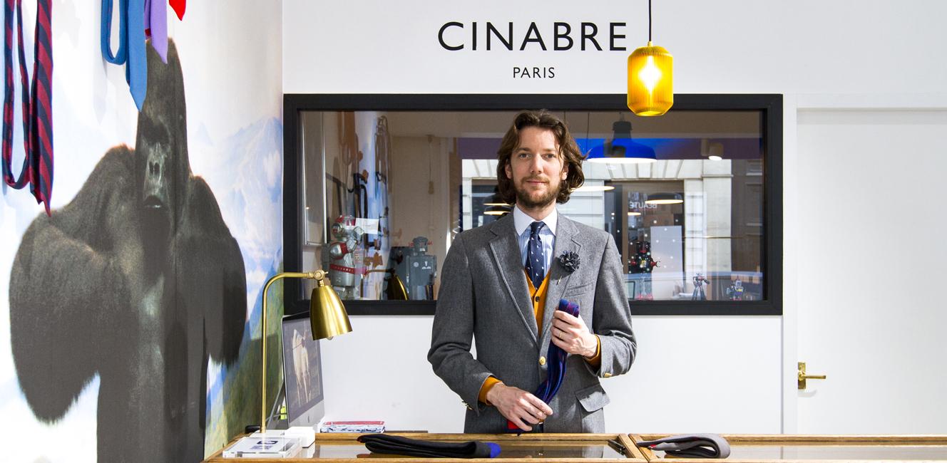 The World Elements|パリジャンの襟元をダンディに飾る個性派ボウタイ|Cinabre Paris
