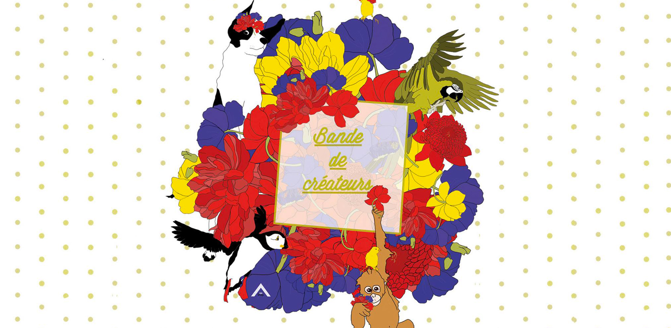 """パリのクリエイターセール Bande de Créateurs Edition """"Flower Power"""""""