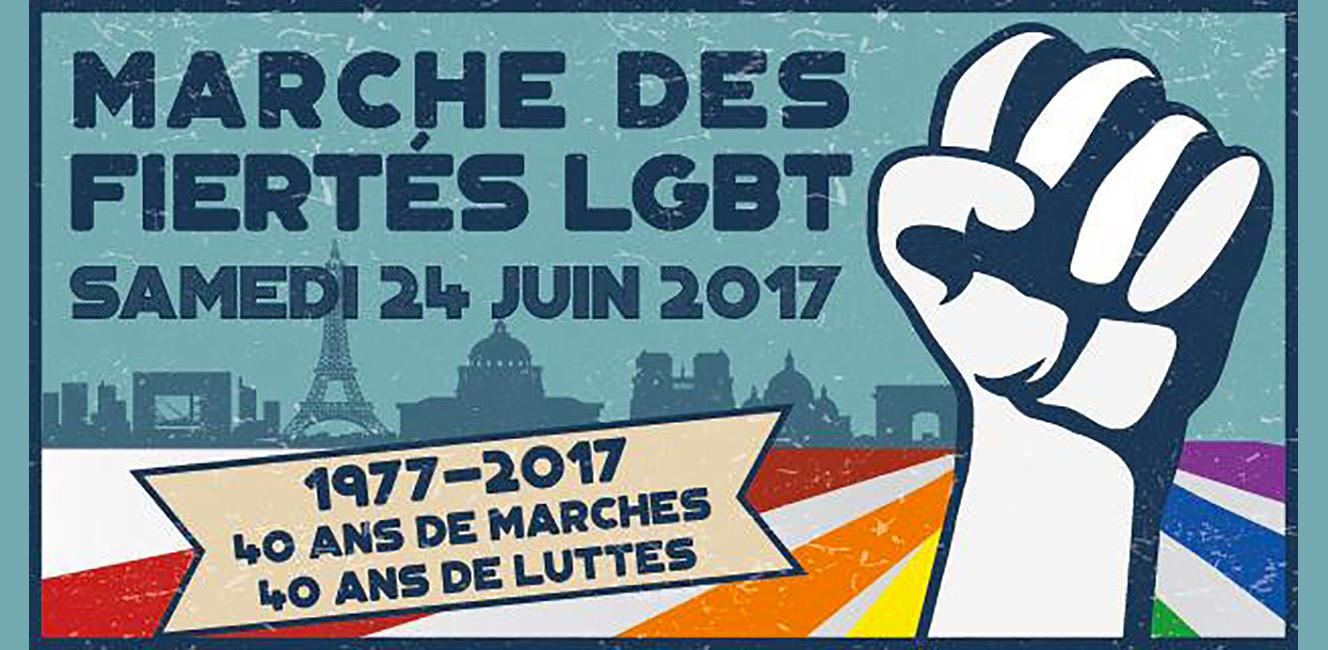 40周年を迎えるパリのゲイ・プライド