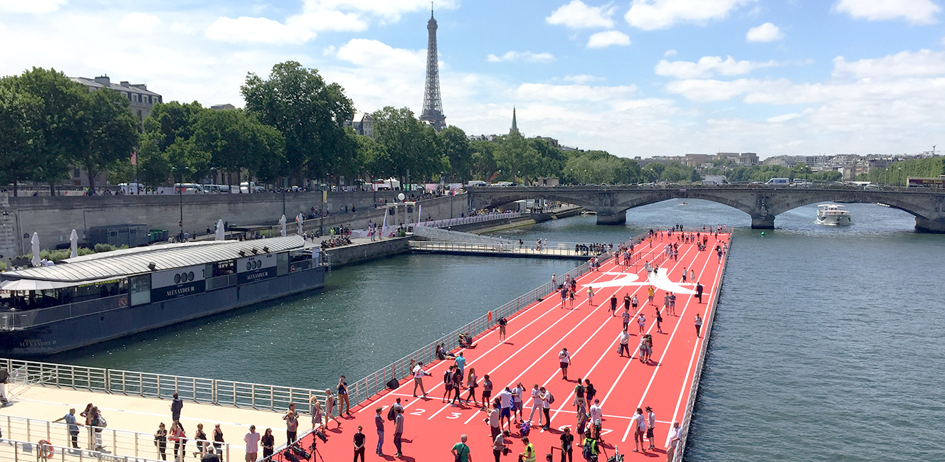 2024年パリ五輪に向けて🏊🏻♀️…セーヌ川の水をきれいにする計画!