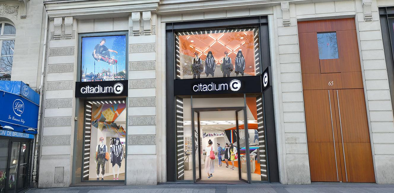 プランタンのカジュアルファッション別館「シタディウム」がシャンゼリゼに登場