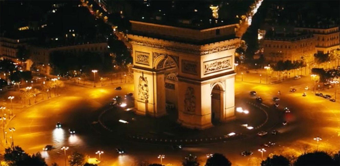 ドローンが空から見たパリその美しすぎる空撮映像✨