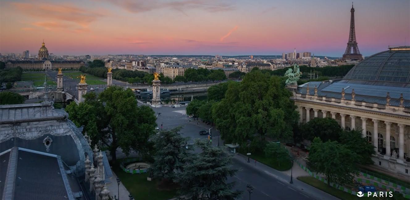 パリを近くに感じたい…🇫🇷プチ・パレのタイムラプス動画