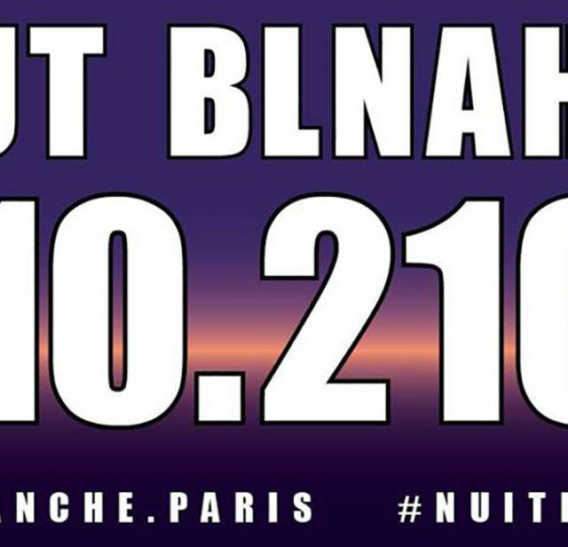 2017年ニュイ・ブランシュ(パリの白夜イベント)