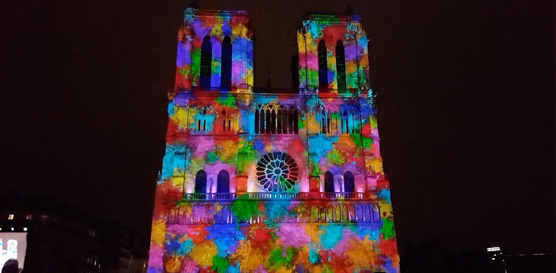 ノートル・ダム大聖堂・音と光✨のスペクタクル動画
