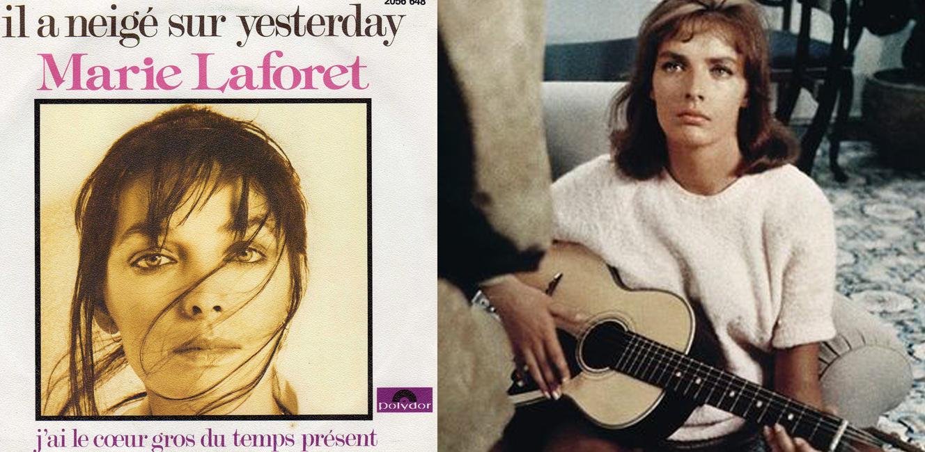 〈Il a neigé sur Yesterday〉Marie Laforêt