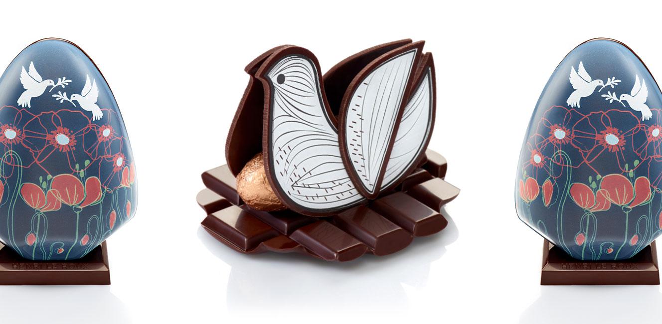 2018年イースターのチョコレート〜アンリ・ル・ルー〜