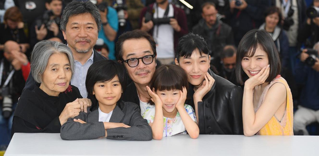 第71回カンヌ映画祭パルムドール賞に是枝監督『万引き家族』が輝く!