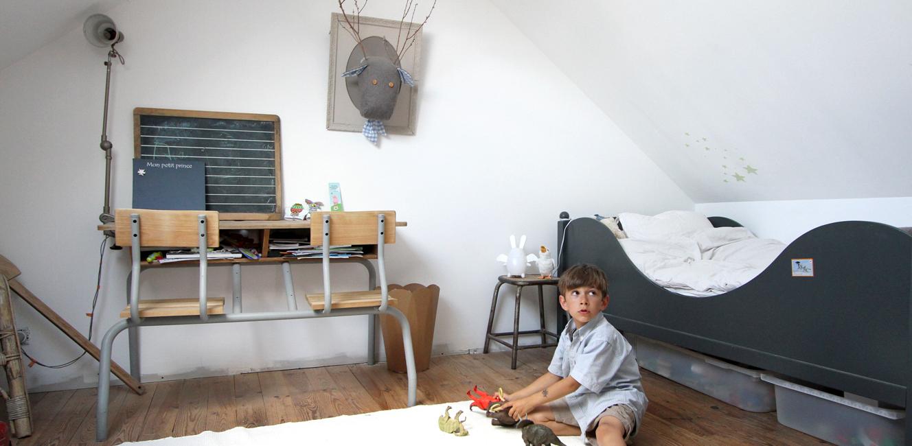 [勉強机まわり編]男の子と女の子のフランスのおしゃれな子供部屋5選
