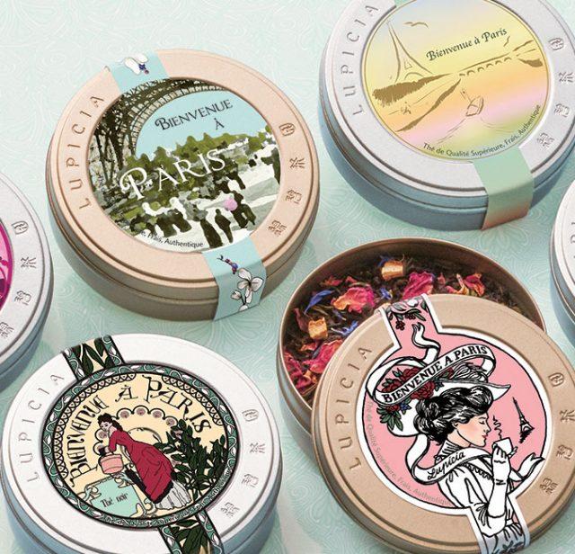パリの名門美術学校の学生が缶をデザインしたルピシアのお茶、8月末に限定発売!