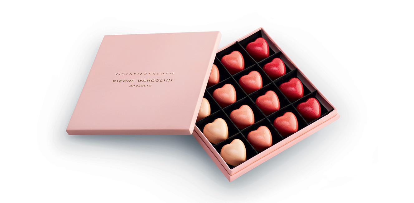 ラファイエットのグルメ館:「ヴィクトリア・ベッカム」10周年記念チョコレート