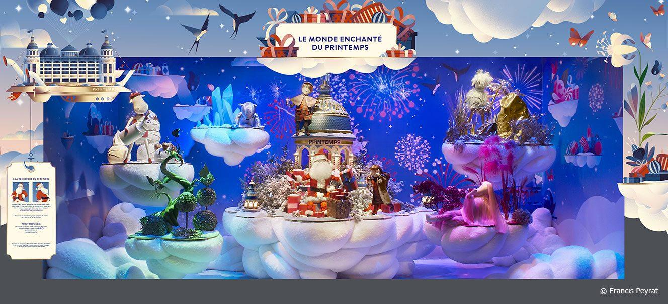 今年のプランタンのクリスマスは…「サンタクロースの魔法の世界」